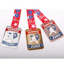 HUDSON Custom Medal