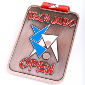 TECH OPEN Custom Medal