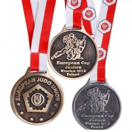 EC Juniors Custom Medal