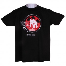 Miami Judo T-shirt Black