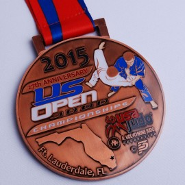 US OPEN medal