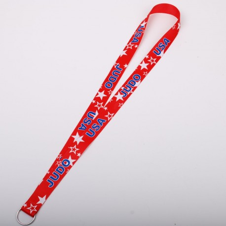 Medal's Ribbon with Judo Theme