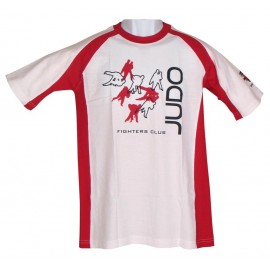 Fighters Club T-shirt White &Red
