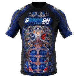 Rashguard Short Fight Machine