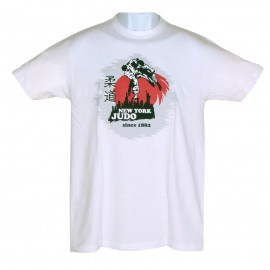 New York Judo T-shirt White