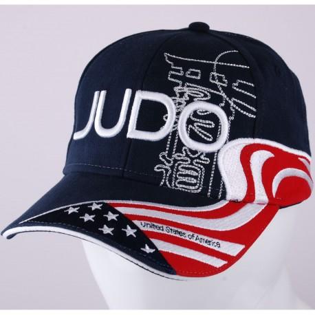 Judo USA Cap Navy