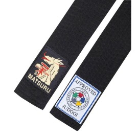 Judo Belt Black IJF Approved