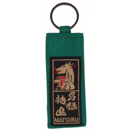 Belt Keychain Green