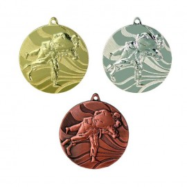 Embossed Judo Medals