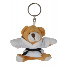 Honey Bear in Judo Gi Keychain