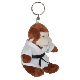 Monkey in Judo Gi Keychain