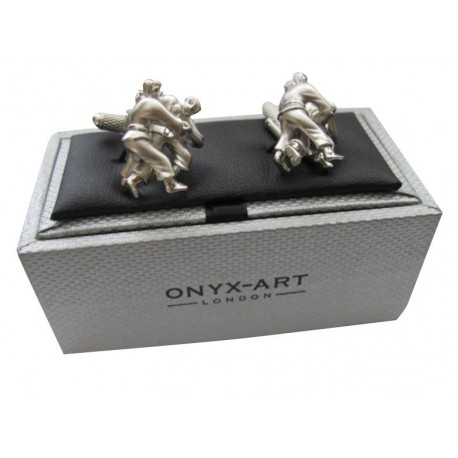 Judo Cufflinks in Gift Box