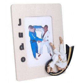 Judo Picture Frame Girl