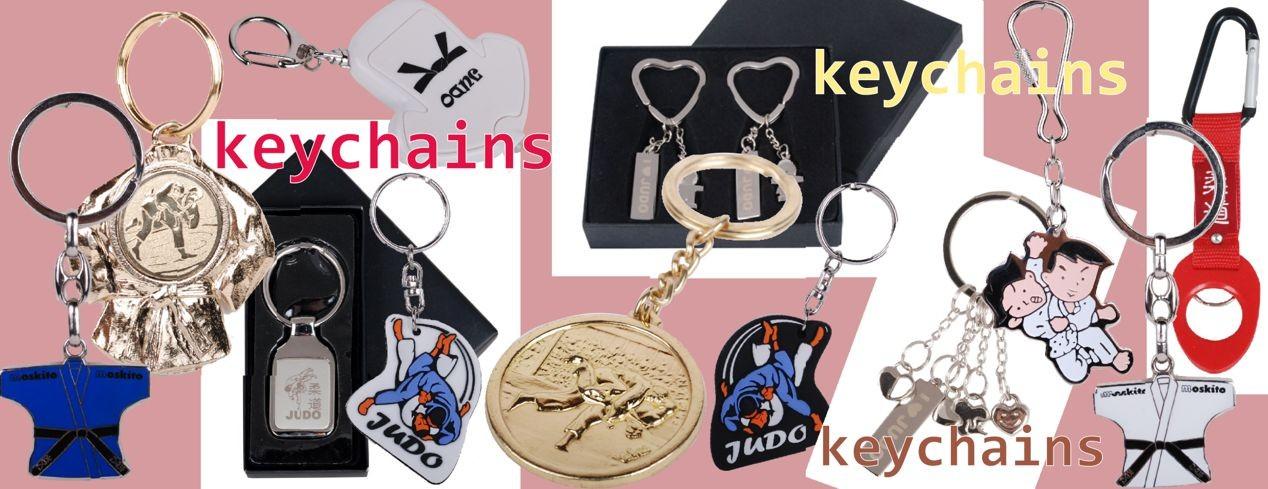 Judo Keychains