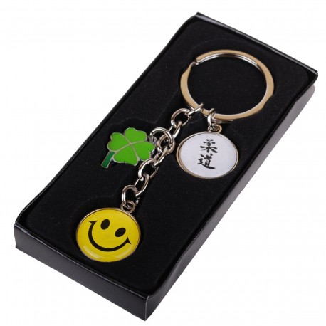 Judo Happy and Lucky Keychain