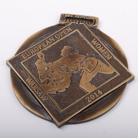 EC Women Custom Medal