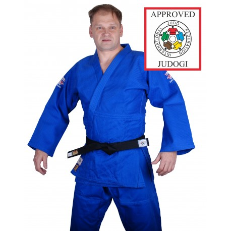 NEW Mondial 750 IJF Approved Matsuru Gi Blue