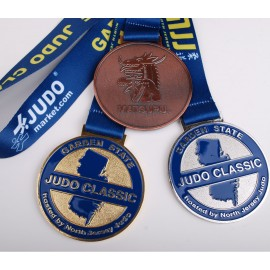 Garden State Judo Classic medal