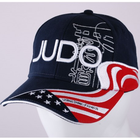 Judo USA Cap Navy