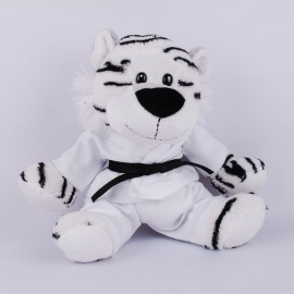 White Tiger in Judo Gi