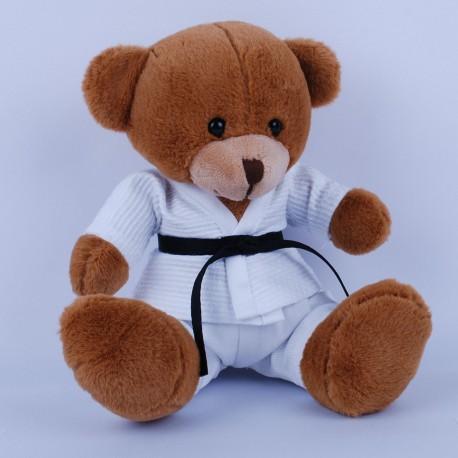 Teddy Bear in Judo Gi