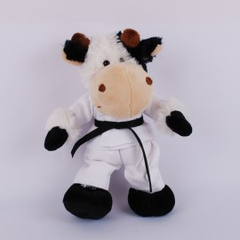 Cow in White Gi