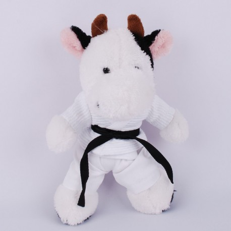 Baby Cow in judo Gi