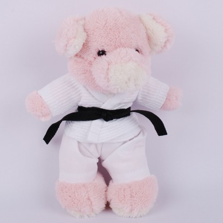 Baby Pig in judo Gi