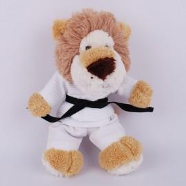 Lion in judo Gi
