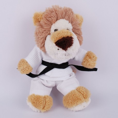 Lion in judo Gi