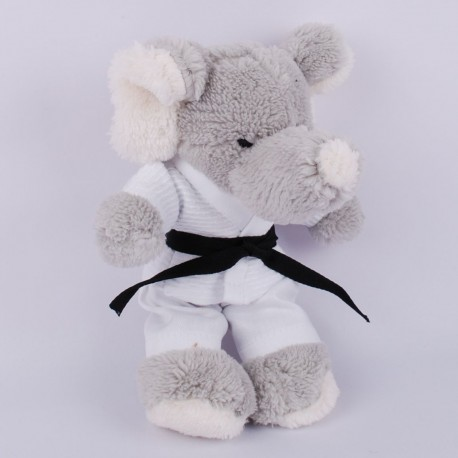 Elephant in judo Gi