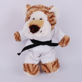 Tiger in judo Gi