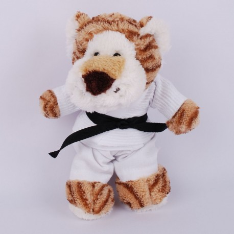 Tiger in judo Gi