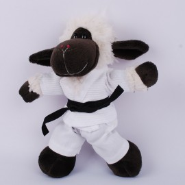 Sheep in judo Gi