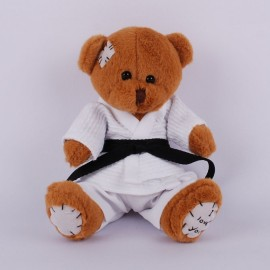 Little Teddy Bear in judo Gi