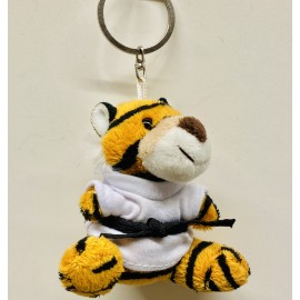 Baby Tiger in Judo Gi Keychain