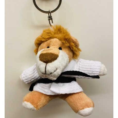 The Lion King in Judo Gi Keychain