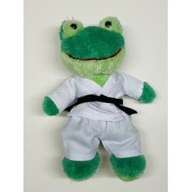 Frog in judo Gi