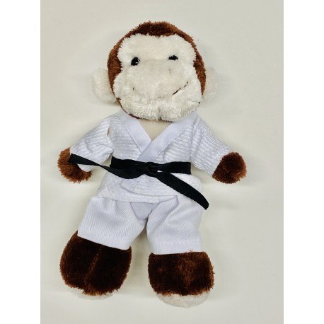 Monkey in judo Gi