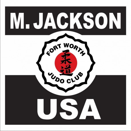 JUDO BACK PATCH Fort Worth Judo