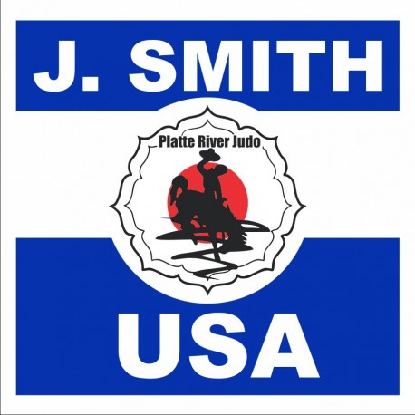 JUDO BACK PATCH Platte River Judo