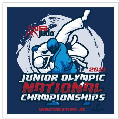JUNIOR OLYMPICS CHAMPIONSHIPS OFFICIAL BACK NUMBER logo only