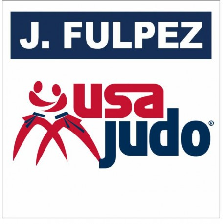 USA JUDO BACK NUMBER with your name