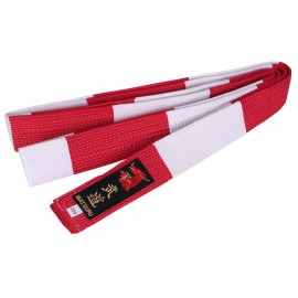 Judo Belt White/Red