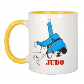 Two-Tone Judo Mugs Yellow