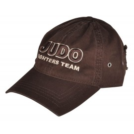 Judo 3D Embroidery Cap Brown