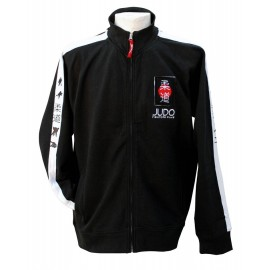 Judo Fighters Club Full Zip Jacket Black