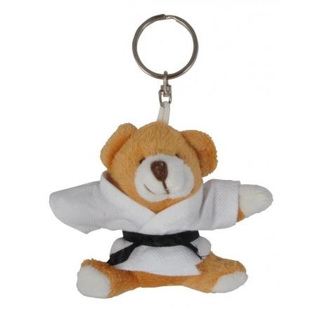 Honey Bear in Judo Gi Keychain