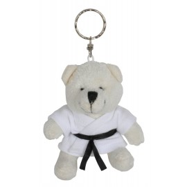 Polar Bear in Judo Gi Keychain