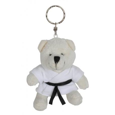 Polar Bear in Judo Gi Keychain